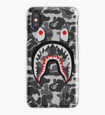white shark iPhone Case/Skin