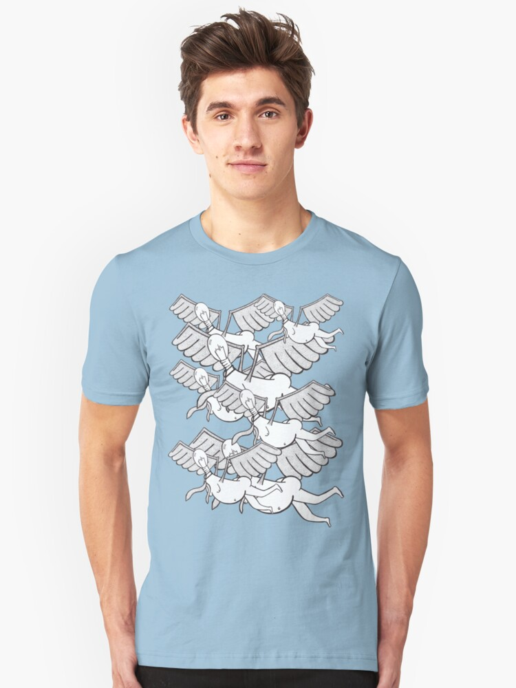 Flying Flock Unisex T-Shirt Front
