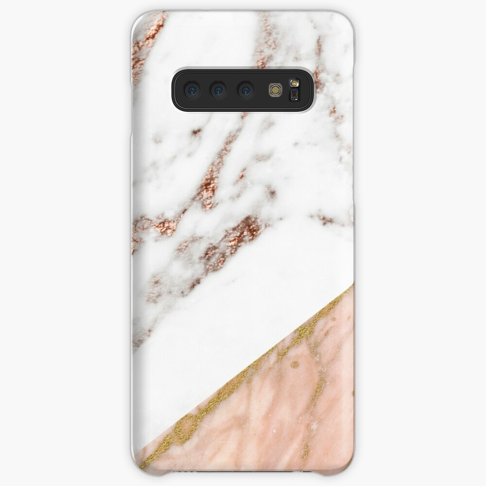 Rose gold marble blended Case & Skin for Samsung Galaxy