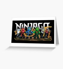 ninjago Greeting Card