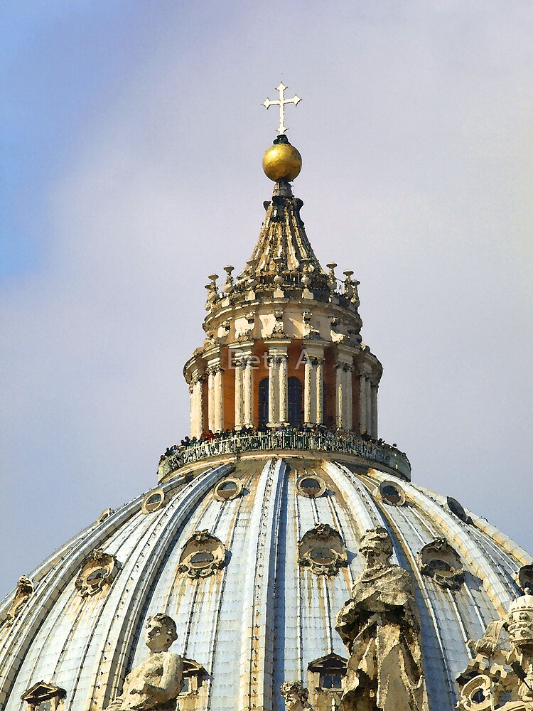 St Peter's Dome by Beth A