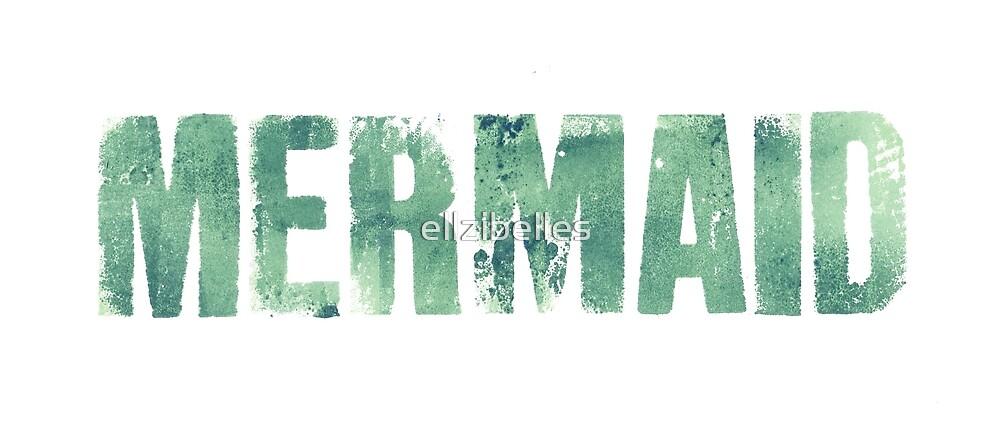 Mermaid (Green) by ellzibelles