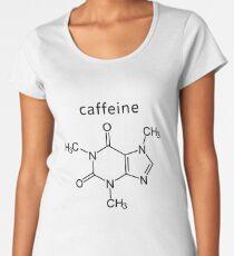 caffeine molecule formula Women's Premium T-Shirt