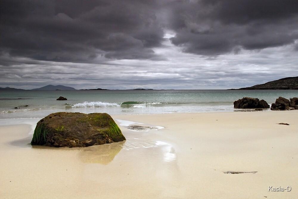 Harris: Huishinish Beach by Kasia-D
