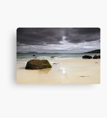 Harris: Huishinish Beach Canvas Print