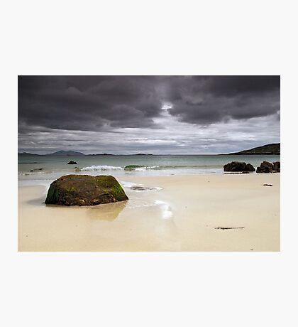 Harris: Huishinish Beach Photographic Print