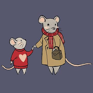 Mama Mouse Loves Mini Mouse by CARRYthecarrot