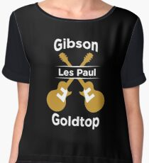 GIBSON LES PAUL SHIRT Women's Chiffon Top