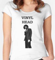 Vinyl Head Women's Fitted Scoop T-Shirt