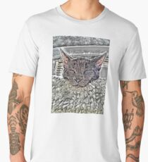 SLEEPING CAT Männer Premium T-Shirts