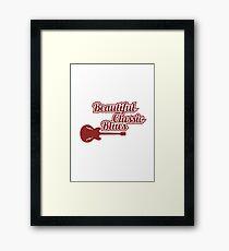 BEAUTIFUL CLASSIC BUES SHIRT Framed Print