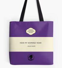 Hear my womanly roar Tote Bag