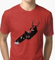 Time To Be Board Silhouette Tri-blend T-Shirt