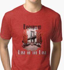 Brooklyn - East of the East Tri-blend T-Shirt
