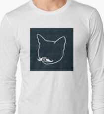 cat design with square background T-Shirt