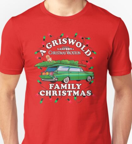 National Lampoon's - Weihnachtswaggon T-Shirt