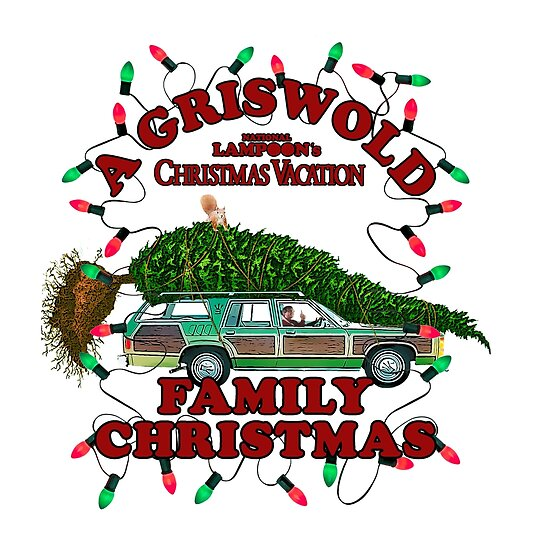 Quot National Lampoon S Christmas Tree Car Variant Quot Posters By Candywrap Design Redbubble