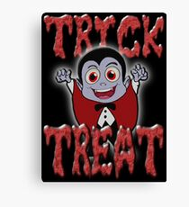 TRICK OR TREAT Canvas Print