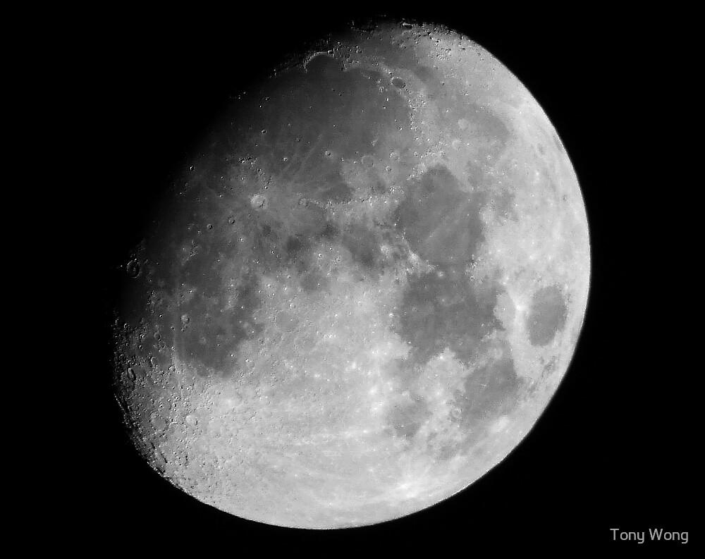 The Moon by Tony Wong