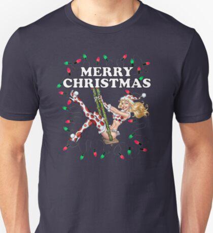 Frau Claus - Mädchen Pinup T-Shirt