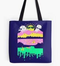 Happy Lake Tote Bag