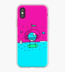 Surreal Planet - Mr Beaker iPhone Case