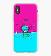 Surrealer Planet - Herr Beaker iPhone-Hülle & Cover