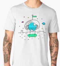 Surreal Planet - Mr Beaker Men's Premium T-Shirt