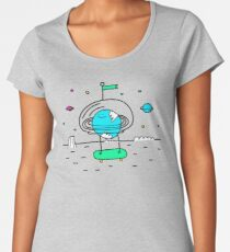 Surreal Planet - Mr Beaker Women's Premium T-Shirt