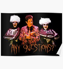 David S. Pumpkins - Any Questions? V Poster