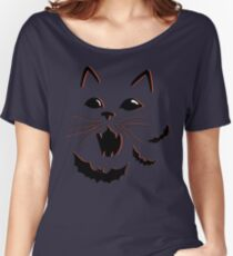 Haunted Cat Women's Relaxed Fit T-Shirt