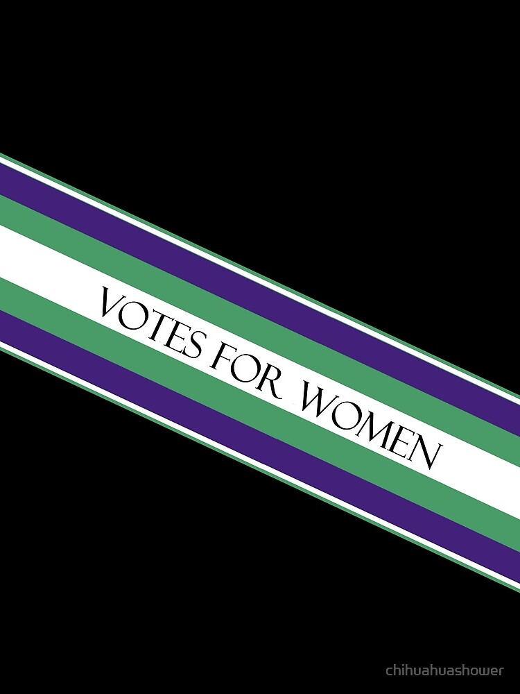 Suffragette by chihuahuashower