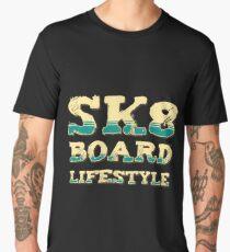 SK8 Board Lifestyle Men's Premium T-Shirt
