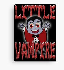 LITTLE VAMPIRE Canvas Print