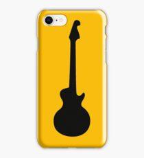 Simple Guitar  iPhone Case/Skin