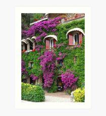 Ligurian coast Art Print