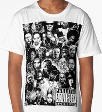 Rap Legends T-shirt Long T-Shirt