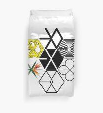 EXO Logos Duvet Cover