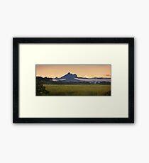 Mount Warning Framed Print