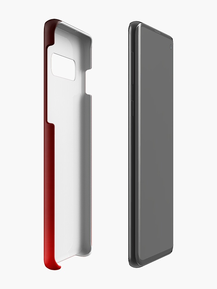 Alternate view of Red Ombre Case & Skin for Samsung Galaxy