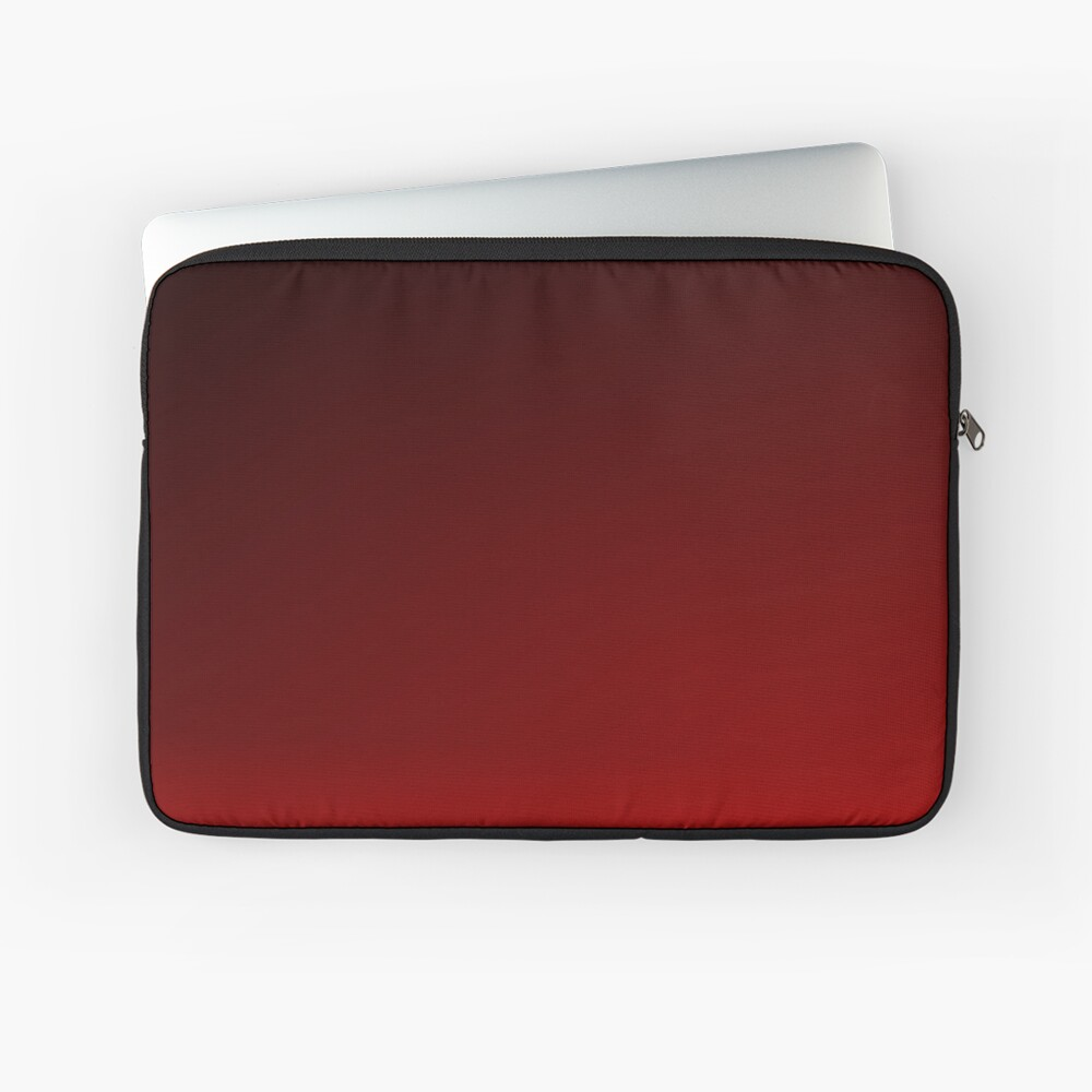 Red Ombre Laptop Sleeve