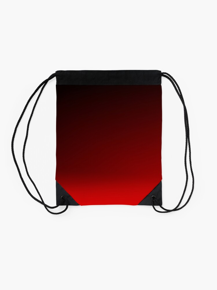Alternate view of Red Ombre Drawstring Bag