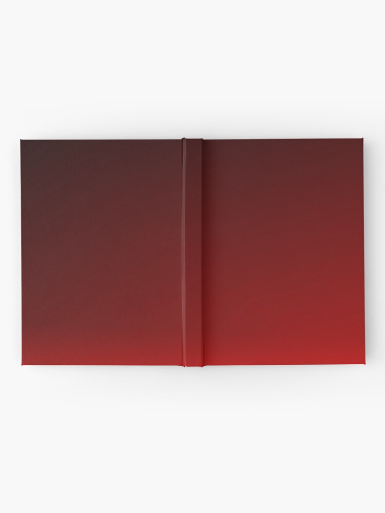 Alternate view of Red Ombre Hardcover Journal