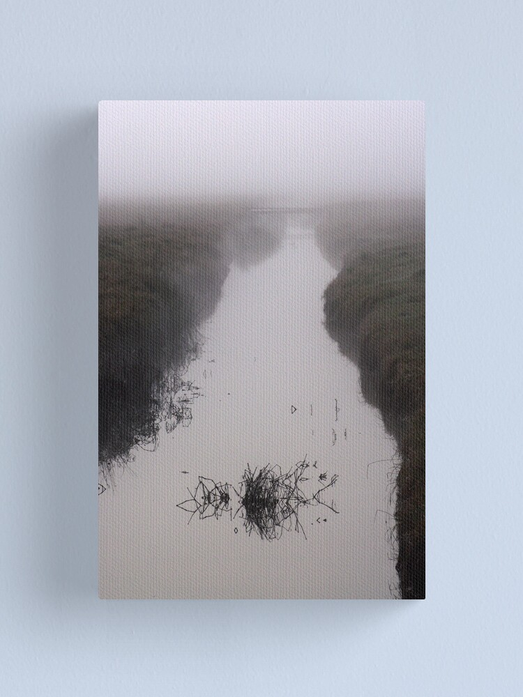 Alternate view of Misty Marsh Canvas Print