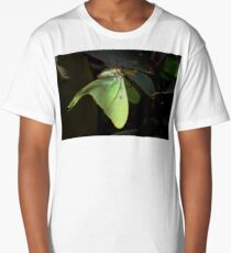 """ The Lunar Moth "" Long T-Shirt"