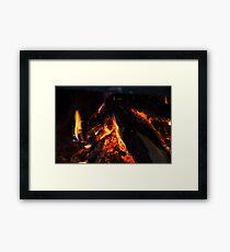 Colorful Heat Framed Print