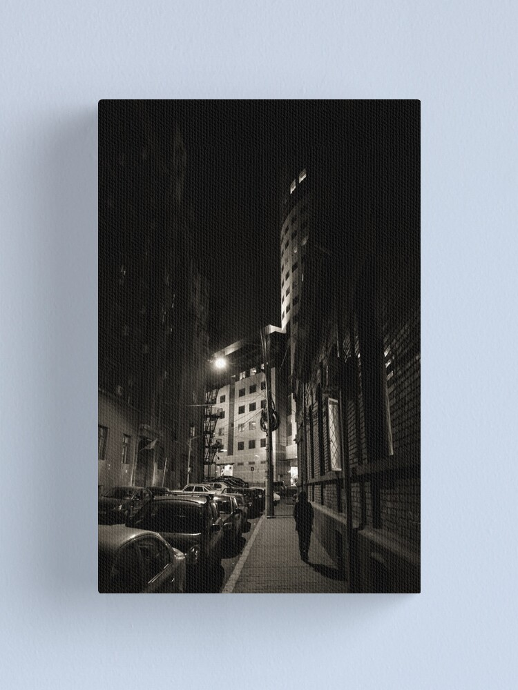 Alternate view of alley Canvas Print