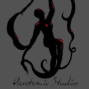 Goddess of Vines - Silhouette by Curry
