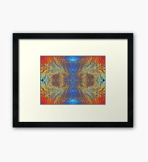 Coloured Frost Framed Print