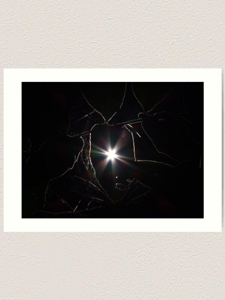 Alternate view of Sunlines Art Print
